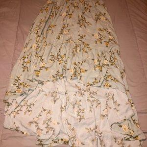 Hi-love floral skirt